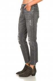 7 For All Mankind |  Destroyed boyfriend jeans Asher | grey  | Picture 5