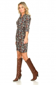 Toral :  Leather knee boots Gan | brown - img3