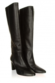 Toral :  High leather boots Christy | black - img4