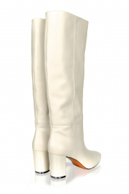 Toral |  High leather boots Christy | white  | Picture 5
