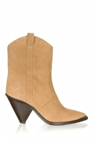 Toral |  Suede ankle boots Elisio | brown