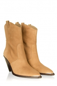 Toral :  Suede ankle boots Elisio | brown - img5