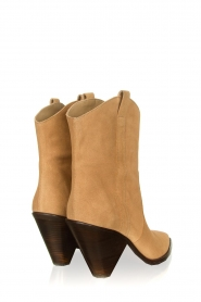 Toral :  Suede ankle boots Elisio | brown - img6