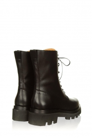 Toral :  Leather lace-up boots London | black - img5