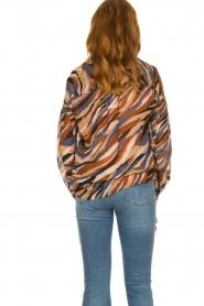Dante 6 |  V-neck printed blouse Benson | multi  | Picture 7