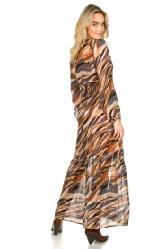Dante 6 |  Printed maxi dress Carmine | multi  | Picture 5