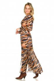 Dante 6 |  Printed maxi dress Carmine | multi  | Picture 4