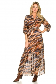 Dante 6 |  Printed maxi dress Carmine | multi  | Picture 2