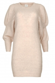 Dante 6 |  Sweater dress with puff sleeves Littal | naturel  | Picture 1