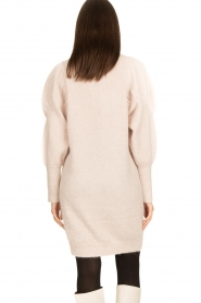 Dante 6 |  Sweater dress with puff sleeves Littal | naturel  | Picture 7