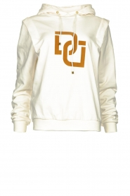 Dante 6 |  Sweater with printed text Vote | white  | Picture 1