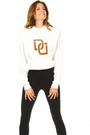 Dante 6 |  Sweater with printed text Vote | white  | Picture 4