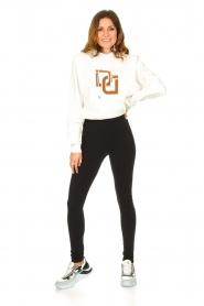 Dante 6 |  Sweater with printed text Vote | white  | Picture 3