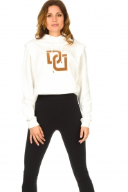 Dante 6 |  Sweater with printed text Vote | white  | Picture 2