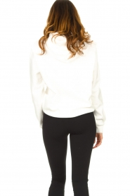 Dante 6 |  Sweater with printed text Vote | white  | Picture 6