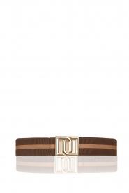 Dante 6 |  Belt Monogram | brown  | Picture 1