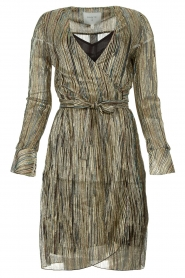Dante 6 |  Wrap dress with volant details Alixa | multi  | Picture 1