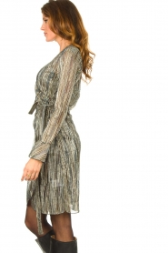 Dante 6 |  Wrap dress with volant details Alixa | multi  | Picture 5