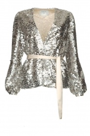 Dante 6 |  Sequin cardigan Quandy | silver  | Picture 1