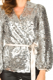 Dante 6 |  Sequin cardigan Quandy | silver  | Picture 7