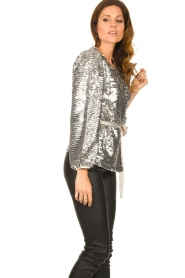 Dante 6 |  Sequin cardigan Quandy | silver  | Picture 5