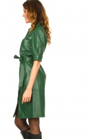Dante 6 :  Leather dress Chandler | green - img6