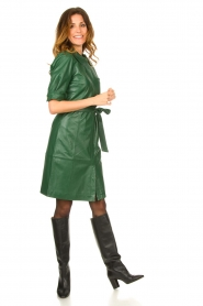 Dante 6 :  Leather dress Chandler | green - img3