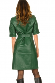 Dante 6 :  Leather dress Chandler | green - img7