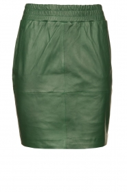 Dante 6 |  Leather skirt Dyna | green  | Picture 1