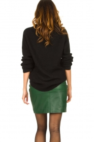 Dante 6 |  Leather skirt Dyna | green  | Picture 6