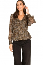 Dante 6 |  Lurex blouse Rebecca | multi  | Picture 2
