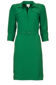 Dante 6 |  Belted dress Dresia | green  | Picture 1