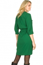 Dante 6 |  Belted dress Dresia | green  | Picture 6