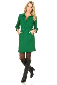 Dante 6 |  Belted dress Dresia | green  | Picture 3