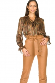 Dante 6 |  Luxurious print blouse Maiden | multi  | Picture 4