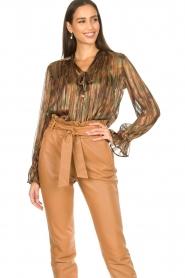 Dante 6 |  Luxurious print blouse Maiden | multi  | Picture 5