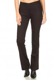 Dante 6 |  Straight trousers Azumi | black  | Picture 4