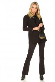 Dante 6 |  Straight trousers Azumi | black  | Picture 3