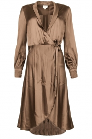 Dante 6 |  Satin dress Frieda | grey  | Picture 1