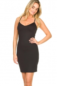 Dante 6 | Slip dress Blain | black  | Picture 3