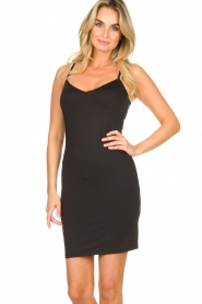 Dante 6 | Slip dress Blain | black  | Picture 2