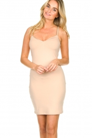 Dante 6 |  Slip dress Blain | nude  | Picture 2