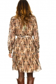 Dante 6 | Printed dress Arlette | multi  | Picture 7