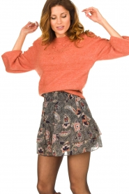 Dante 6 |  Sweater with balloon sleeves Elomi | red  | Picture 2