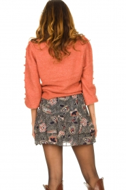 Dante 6 |  Sweater with balloon sleeves Elomi | red  | Picture 6