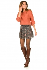 Dante 6 |  Sweater with balloon sleeves Elomi | red  | Picture 3