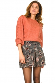 Dante 6 |  Sweater with balloon sleeves Elomi | red  | Picture 4