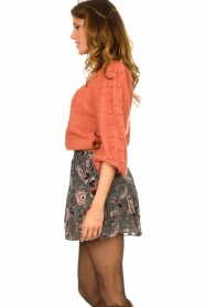 Dante 6    Sweater with balloon sleeves Elomi   red    Picture 5