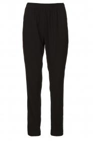 Dante 6 |  zwart | Pants with pleats Bowie   | Picture 1