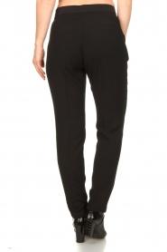 Dante 6 |  zwart | Pants with pleats Bowie   | Picture 6